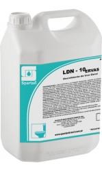 LDN-10 ERVAS - Desinfetante para uso geral - 5 litros (01 Litro faz até 200 litros)