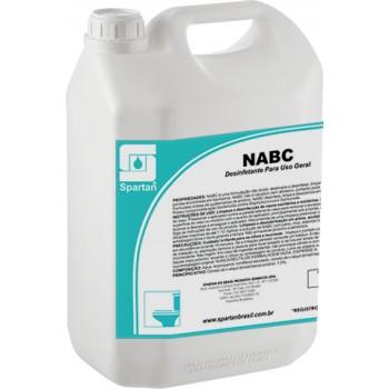NABC - Desinfetante para Uso Geral (1 litro faz até 10 litros)